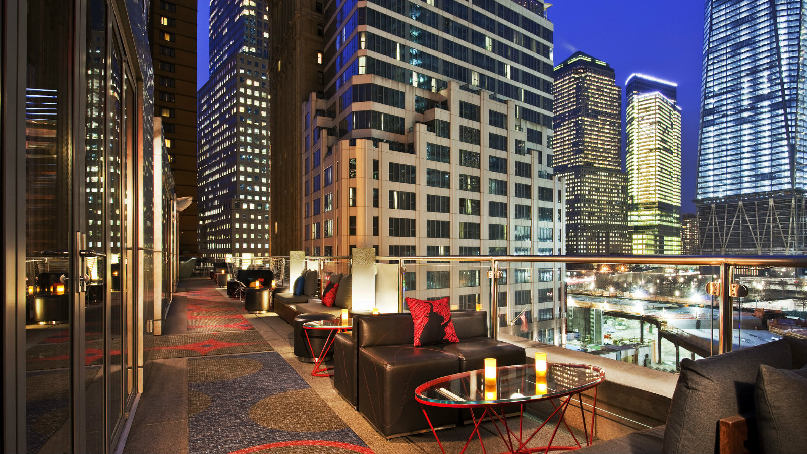 W New York - Downtown - Outdoor Terrace