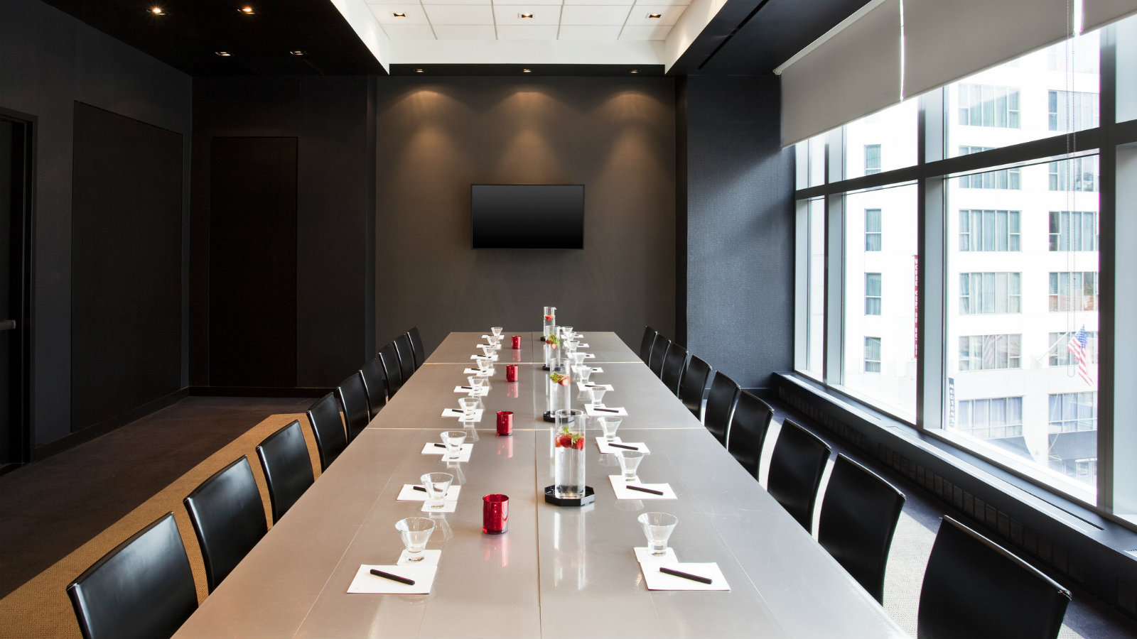 NYC Meetings Boardroom Set Up